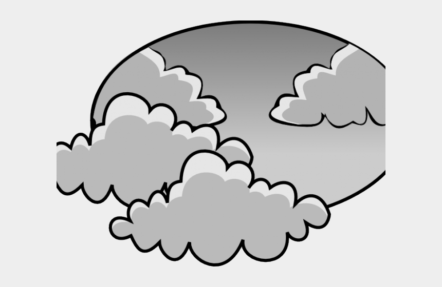 weather clip art, Cartoons - Weather Clipart Cloudy - Cloudy Day Weather Clipart