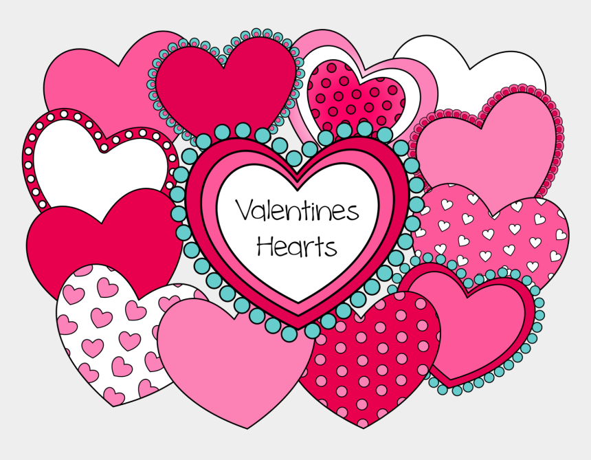 valentines clipart, Cartoons - Valentine Heart Clipart - Heart Design For Valentine's Day