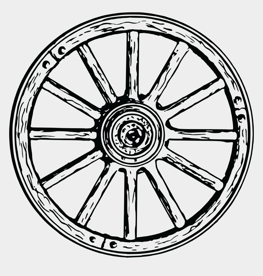 steering wheel clipart, Cartoons - Free Clipart Of A Wagon Wheel - Wagon Wheel