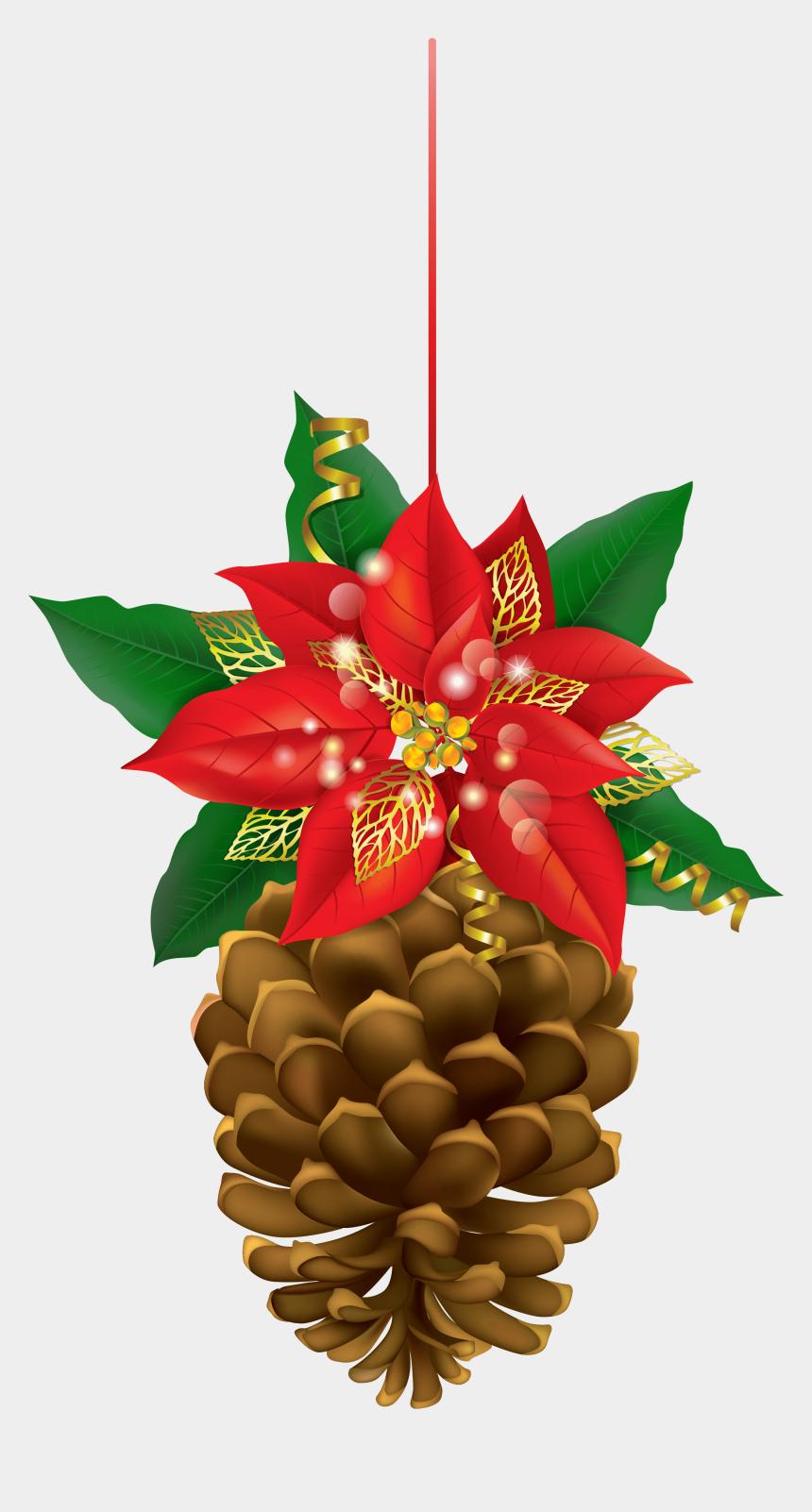 pine cone clip art, Cartoons - Cone Christmas - Christmas Pine Decorations