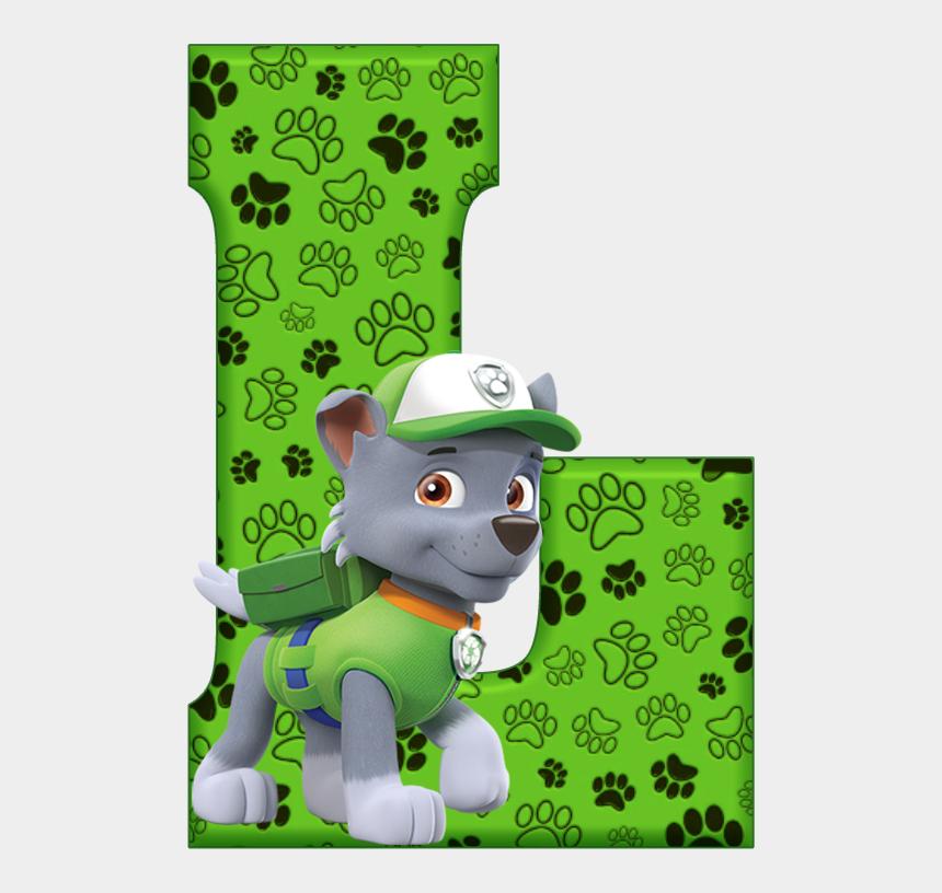 paw patrol clip art, Cartoons - Paw Patrol Clipart - Paw Patrol Alphabet Letters