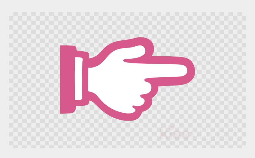 finger clipart, Cartoons - Finger Pointing Right Emoji Clipart Index Finger Emoji - Hand 👉