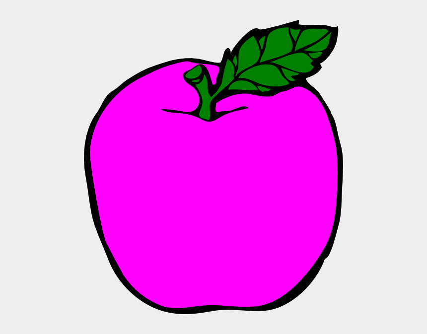 apple clipart black and white, Cartoons - Apple Clipart Black N White , Png Download - Apple Coloring Page