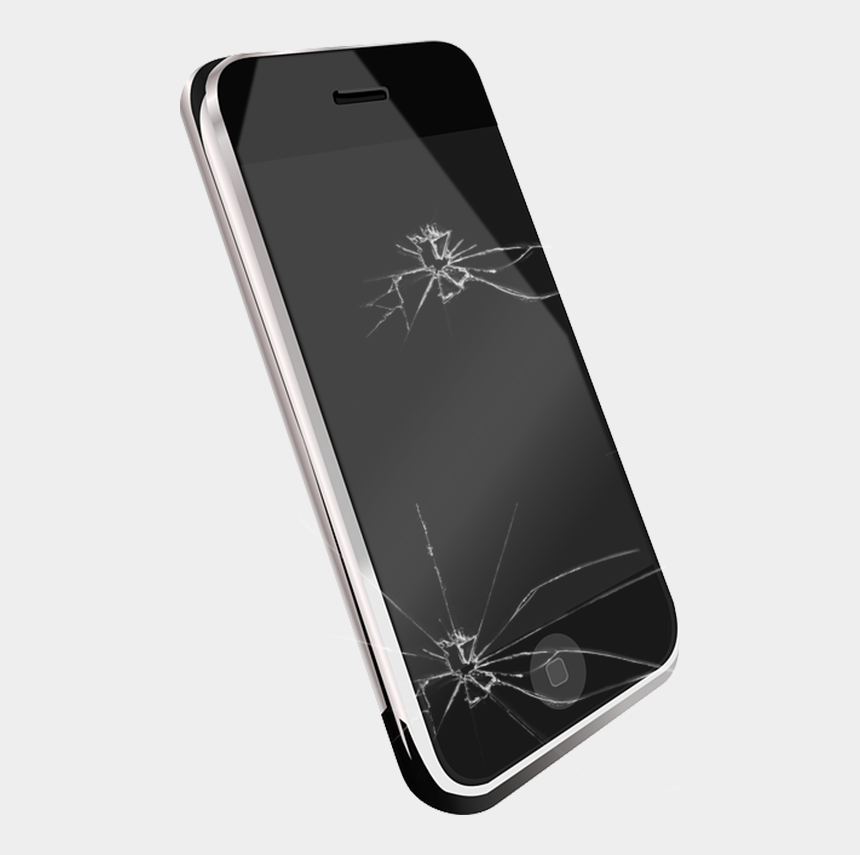 iphone clipart, Cartoons - Iphone Clipart Smartphone Accessory - Cell Phone Transparent Background