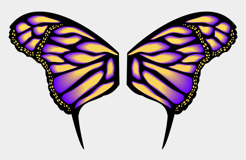 butterflies clipart, Cartoons - Butterfly Wings Clipart - Butterfly Wings Clip Art