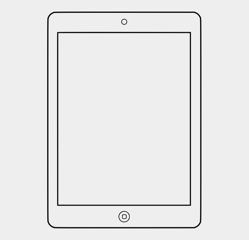 apple clipart black and white, Cartoons - Ipad 2 Apple Computer Icons Iphone Ipod - Ipad Template Clip Art