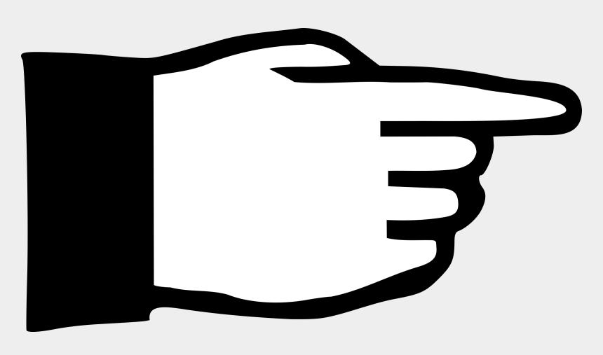 finger clipart, Cartoons - Hand Index Finger Digit Sticker - Pictogram Hand Pointing