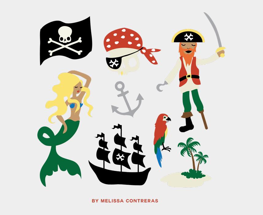 pirate clip art, Cartoons - Pirate Clip Art Free Gift From Melissa Contreras - Pirate Clip Art Free