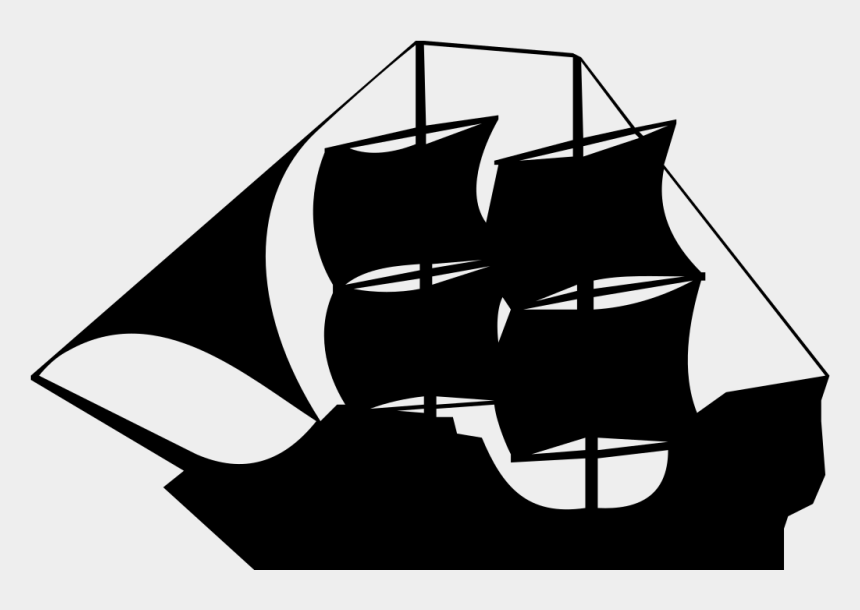 pirate clip art, Cartoons - Black Pirate Ship Svg Clip Arts 600 X 543 Px - Explorer Ship Clip Art