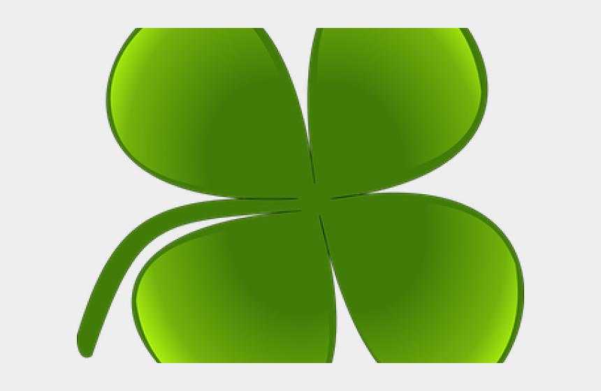 four leaf clover clip art, Cartoons - Ireland Clipart 4 Leaf Clover - Shamrock