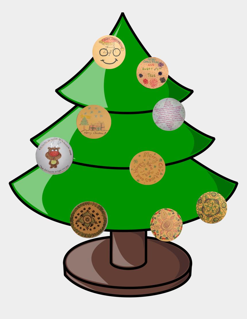happy new year 2017 clipart, Cartoons - Tree2017 - Christmas Tree Not Decorated