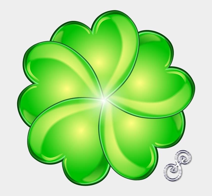 four leaf clover clip art, Cartoons - Four Leaf Shamrock - 5 Leaf Clover Drawing