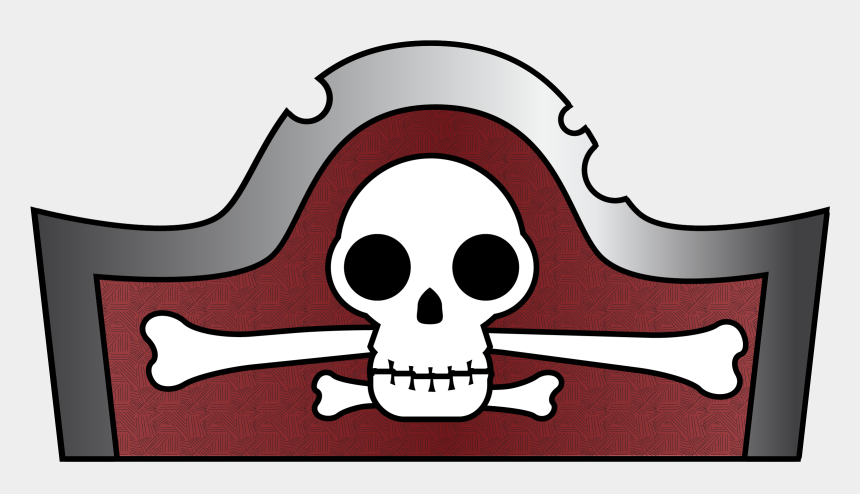 pirate clip art, Cartoons - Pirate Hat Cliparts - Easy Pirate Hat Drawing