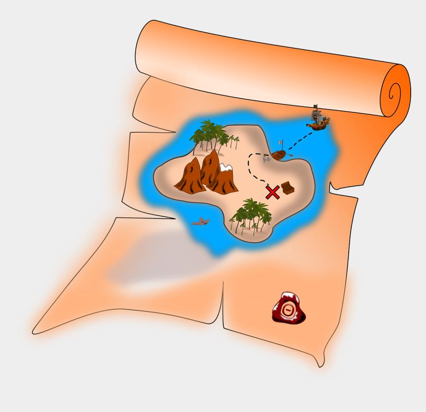 pirate clip art, Cartoons - Pirate Treasure Map Clipart Free Images - Treasure Map Clipart Png