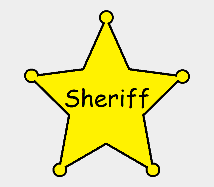 police badge clipart, Cartoons - Download - Sheriff Badge T Clipart