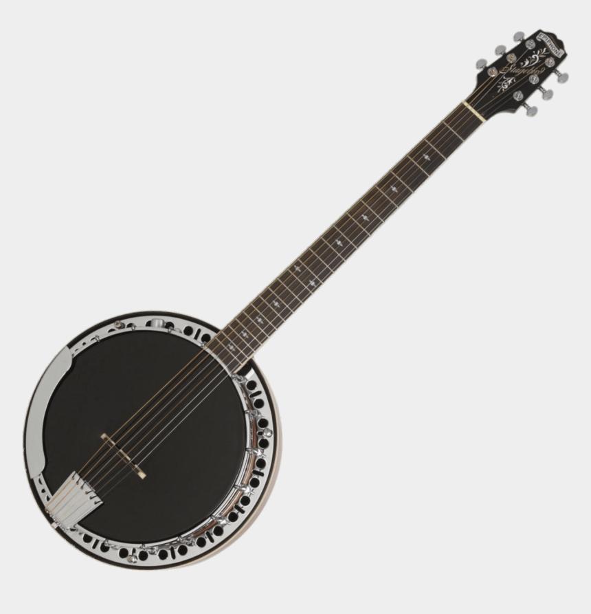 musical instruments clipart, Cartoons - Banjo Clipart String Instrument - Epiphone Pro 1 Acoustic Guitar Vintage Sunburst