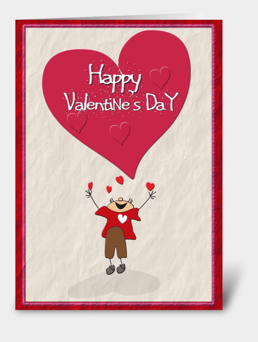 valentines day cards clipart, Cartoons - Happy Valentine's Day, Big Heart - Cartoon