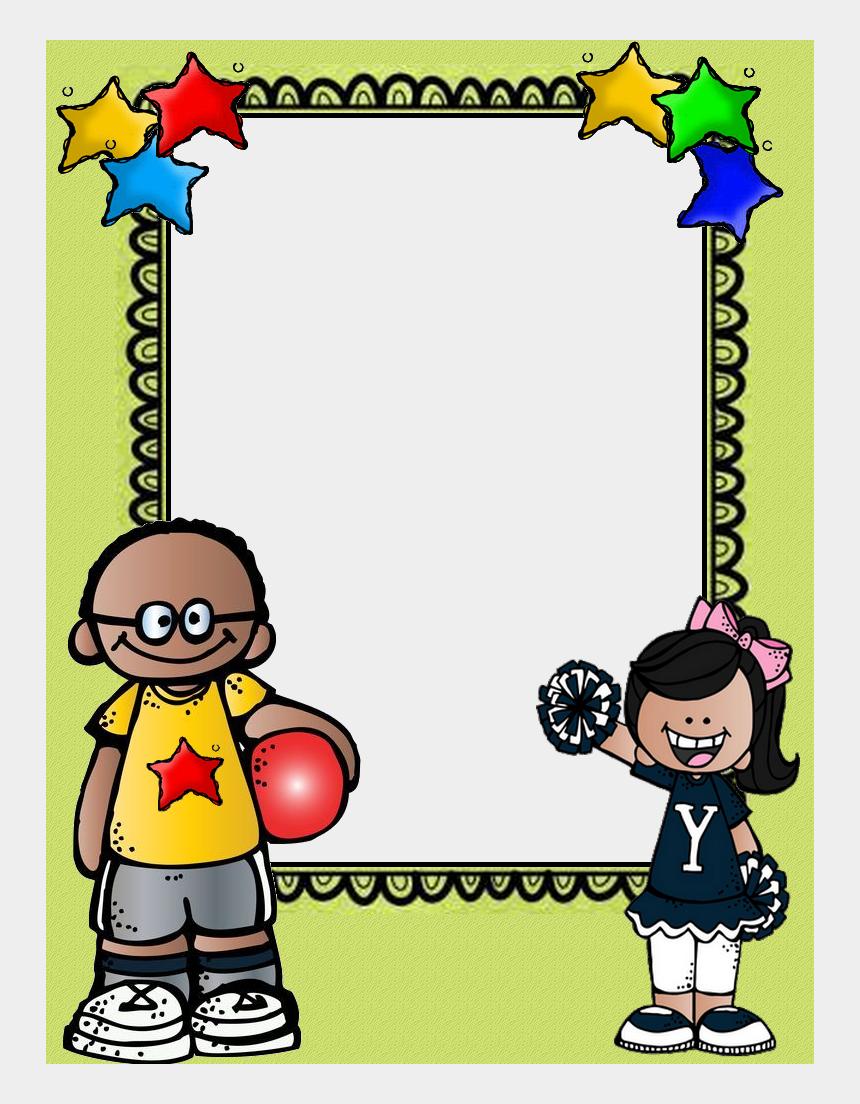 kindergarten calendar clipart, Cartoons - School Frame, School Decorations, Teacher Organization, - Marcos De Melonheadz