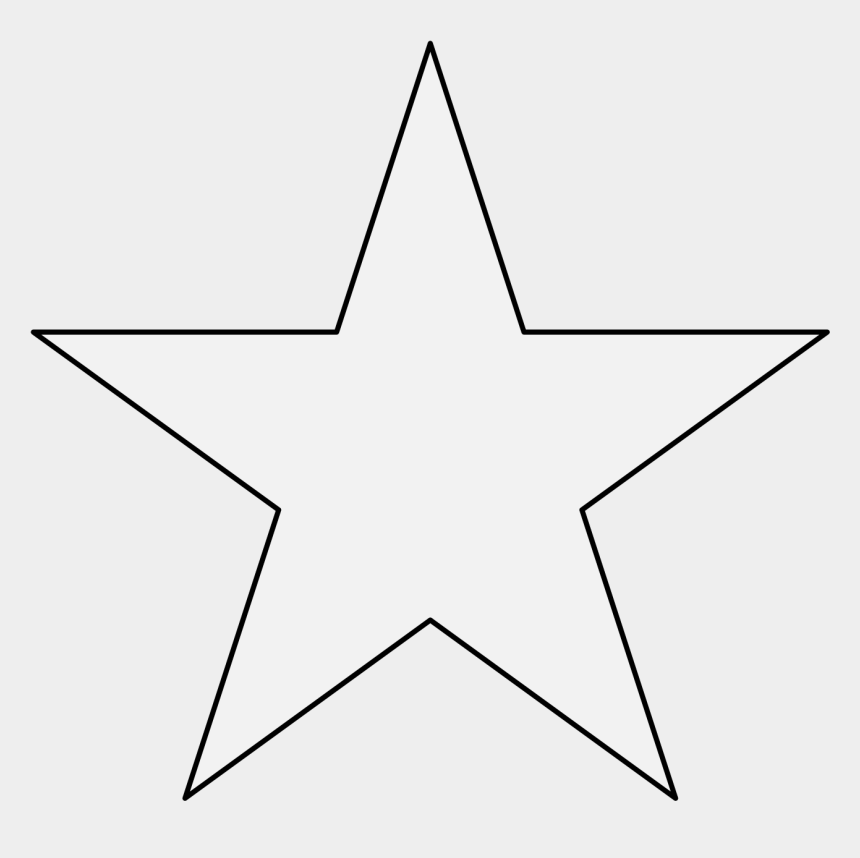 4 point star clipart, Cartoons - Pdf - Star Icon White Png