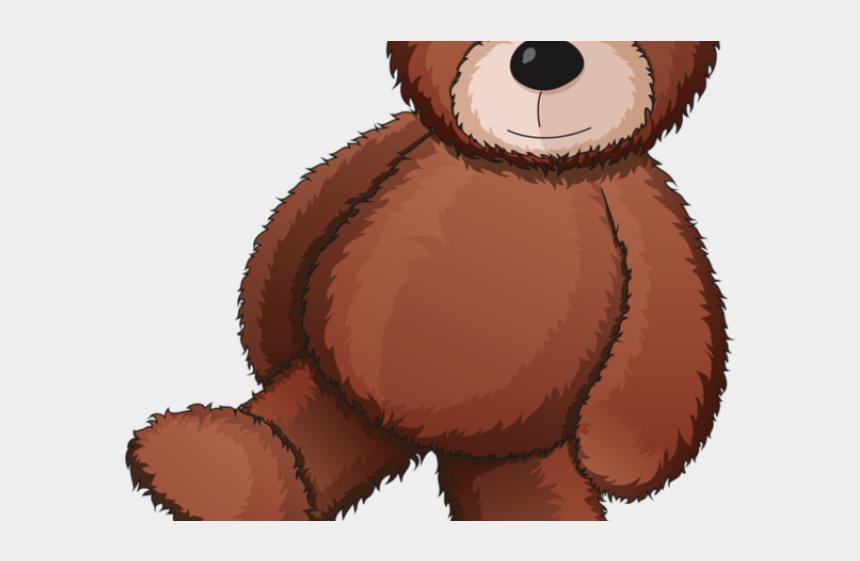 stuffed bear clipart, Cartoons - Gummy Bear Clipart Stuffed Animal - Brown Teddy Bear Drawing