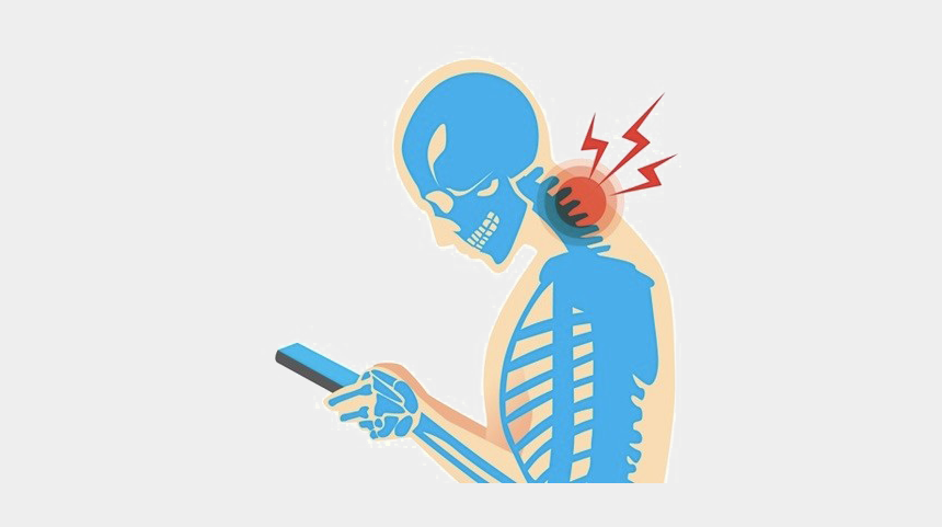 pain in the neck clipart, Cartoons - Pain In The Neck Png Transparent Picture - Phone And Neck Pain