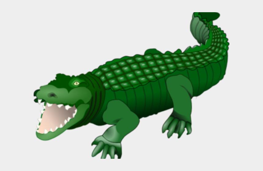 clipart of alligator, Cartoons - Alligator Clipart