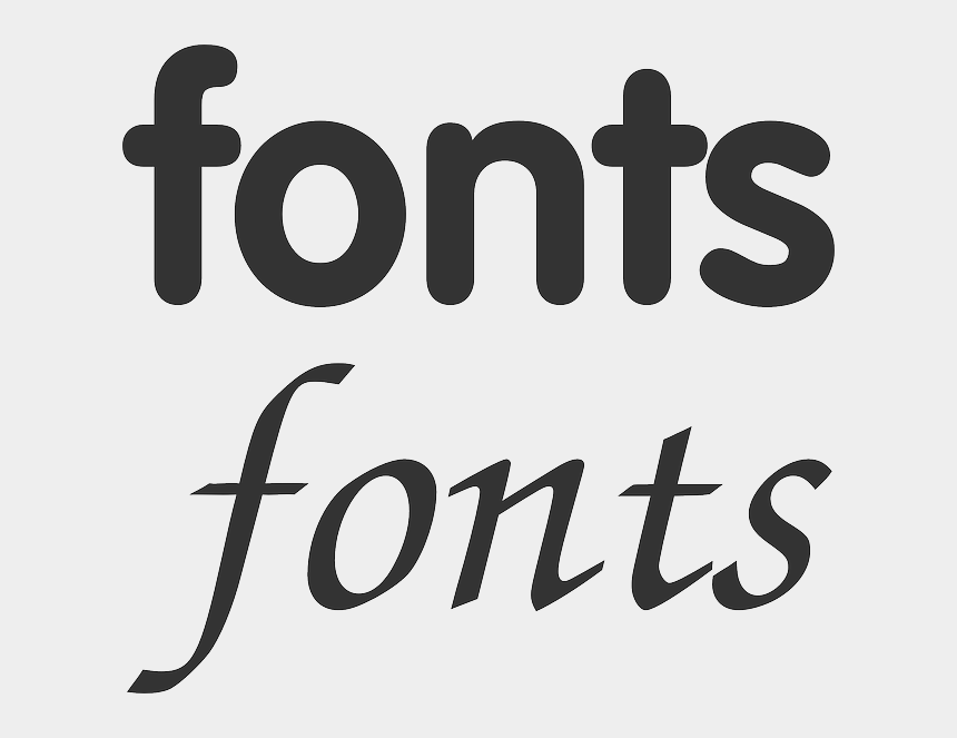 free font clipart, Cartoons - Font Clipart