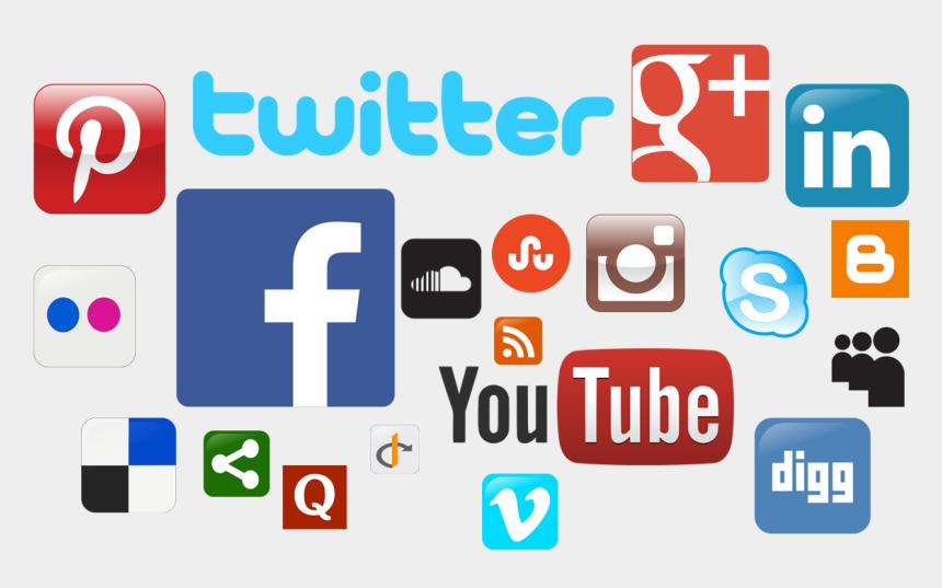 clipart social media, Cartoons - Social Media Icons Png Clipart - Social Media Fake Information