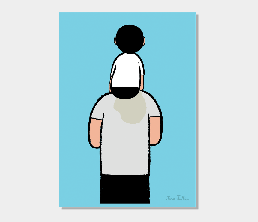 like father like son clipart, Cartoons - Image Republic Collection X Jean Jullien - Jean Jullien Father And Son