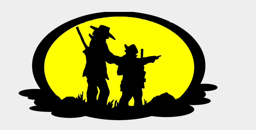 like father like son clipart, Cartoons - Father And Sons Safaris - Silhouette