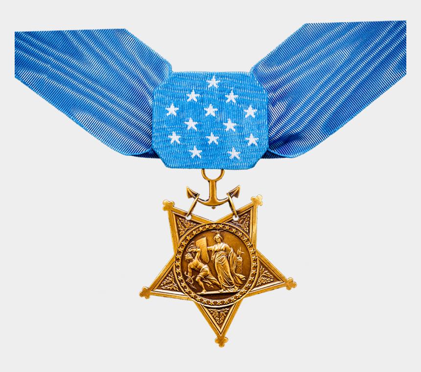 navy blue ribbon clipart, Cartoons - Navy - National Medal Of Honor Day 2019
