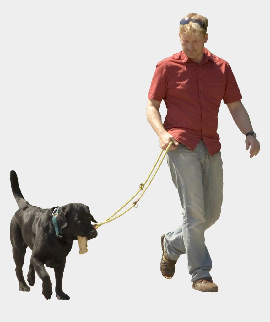 person walking dog clipart, Cartoons - Pet Sitting Puppy Shock - Dog Walking Transparent Background