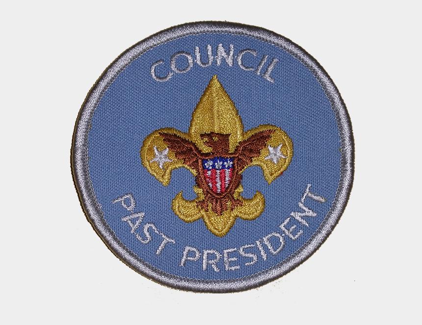 boy scout emblems clipart, Cartoons - Council Past President Emblem - Emblem