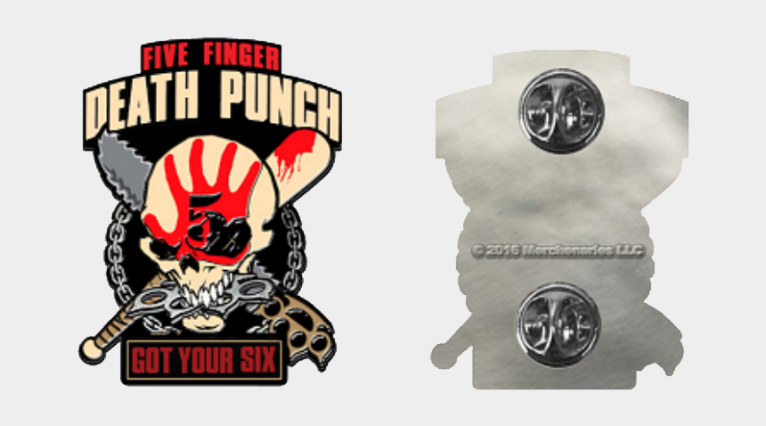 number 1 finger clipart, Cartoons - Zombie Kill Pin - Five Finger Death Punch Pin
