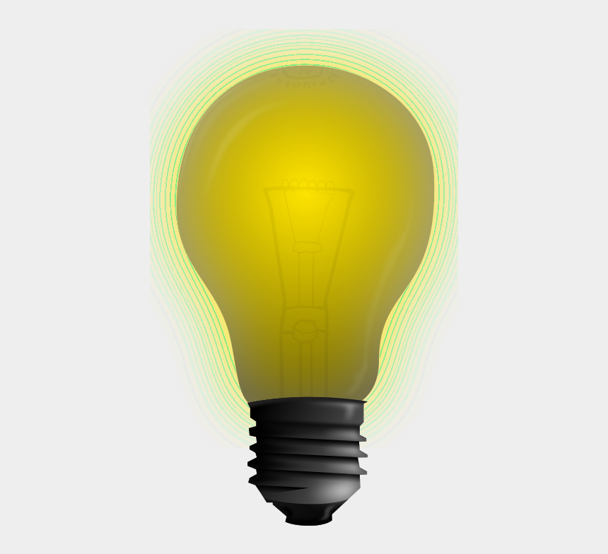 clipart of lightbulb, Cartoons - Incandescent Light Bulb
