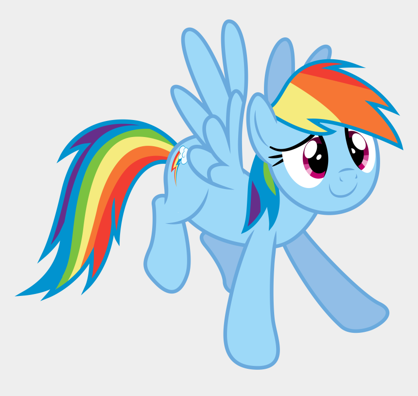clipart royalty free public domain, Cartoons - Download Svg Royalty Free Stock Public Domain Clip - My Little Pony Rainbow Dash Profile