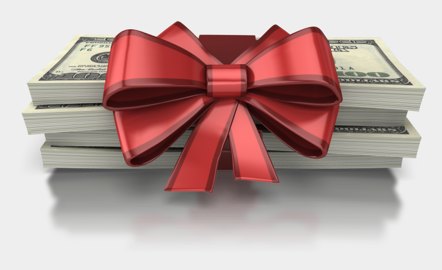 holiday gifts clipart, Cartoons - Holiday Gift Png - Money