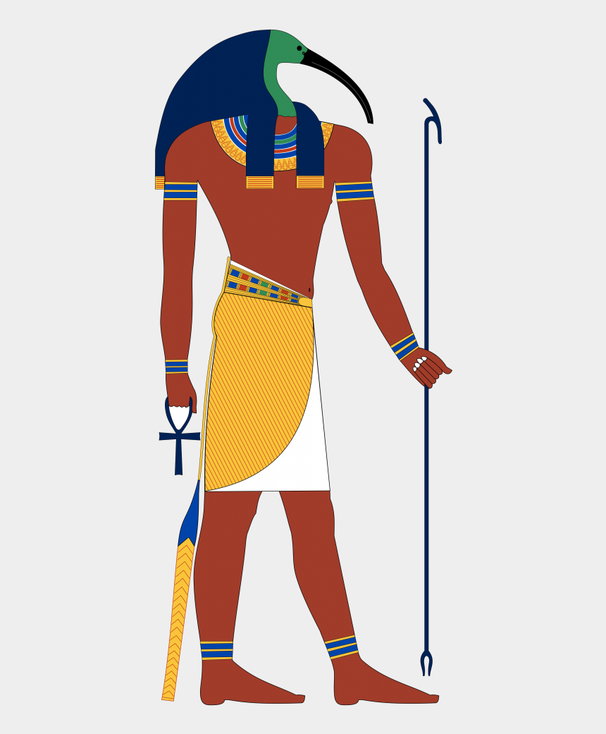 egyptian gods clipart, Cartoons - He Is Known As The Reckoner Of Time And Seasons, The - Thoth Egyptian God