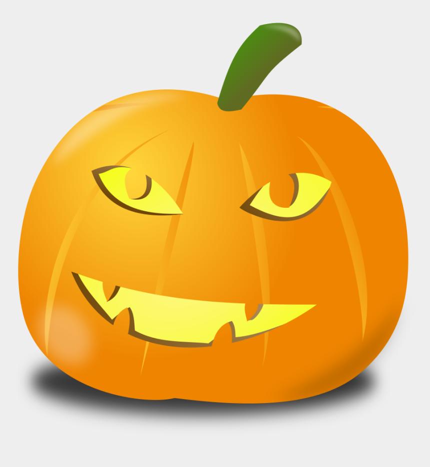 smiling pumpkin clipart, Cartoons - Happy Pumpkin - Sad Halloween Pumpkin Png
