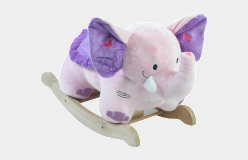 baby girl toys clipart, Cartoons - Bella Elephant Musical Rocker For Baby Girl - Elephant