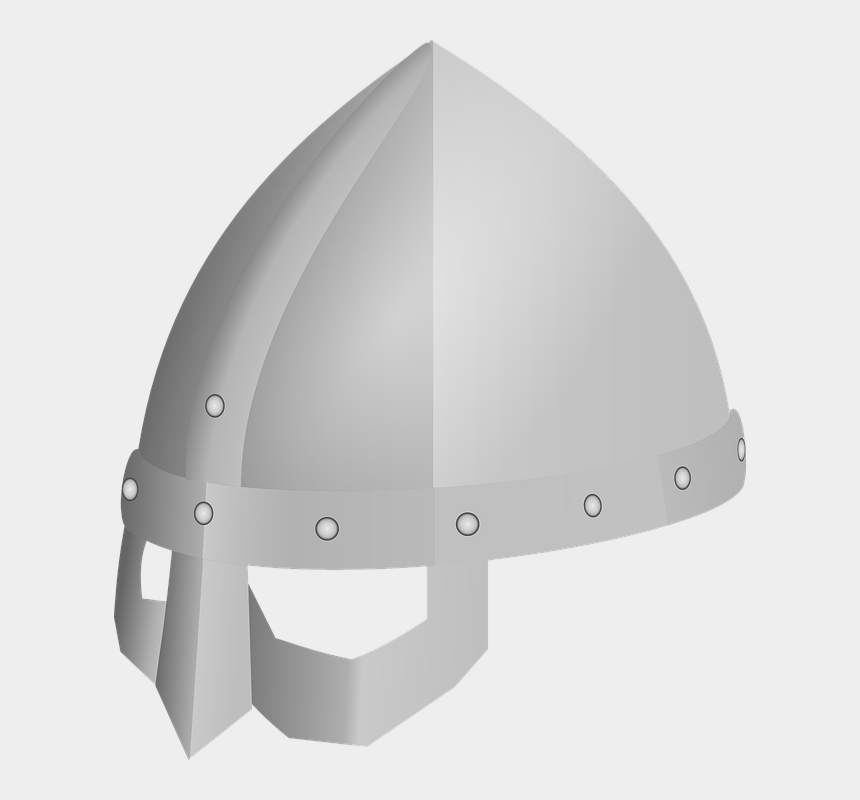 viking head clipart, Cartoons - Helmet Viking Protection Metal - หมวกเหล็ก Png