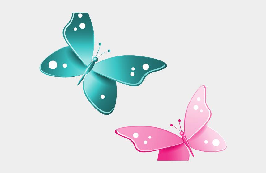 purple butterfly border clipart, Cartoons - Frame Clipart Butterfly - Butterfly Png Clip Art