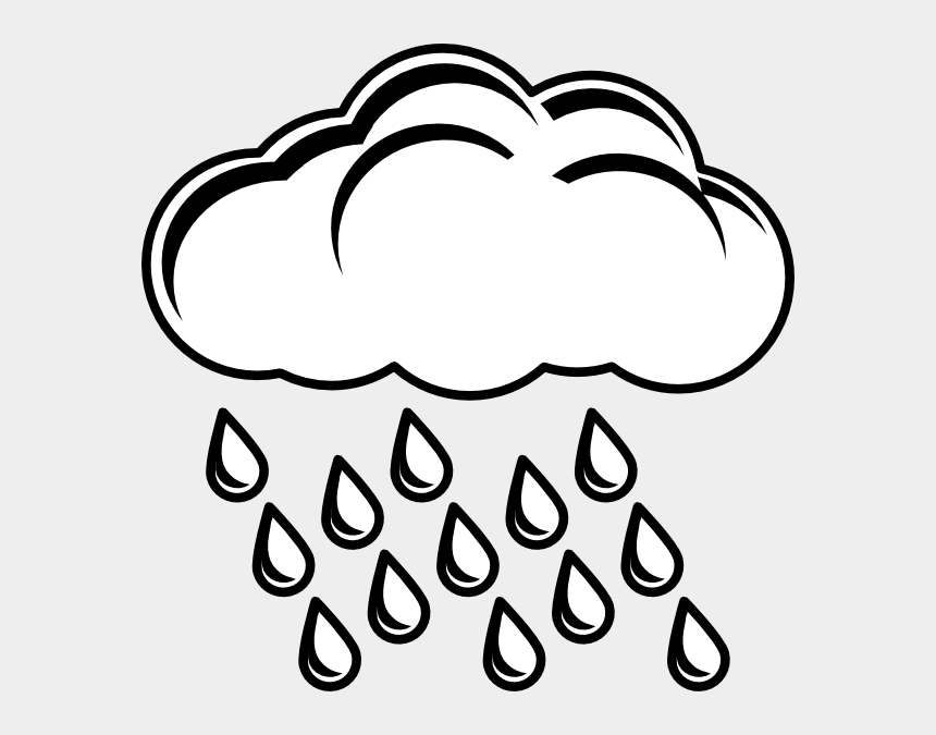 rain gauge clipart, Cartoons - Clipart Rain Percipitation - Coloring Picture Of Sun And Clouds