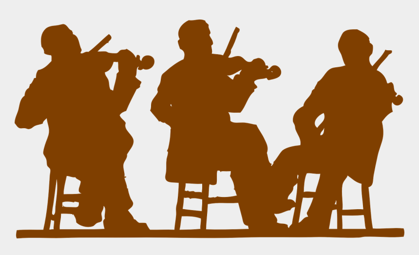 string orchestra clipart, Cartoons - The Benefits Of A Student Led Chamber Ensemble Experience - People Playing Music Png