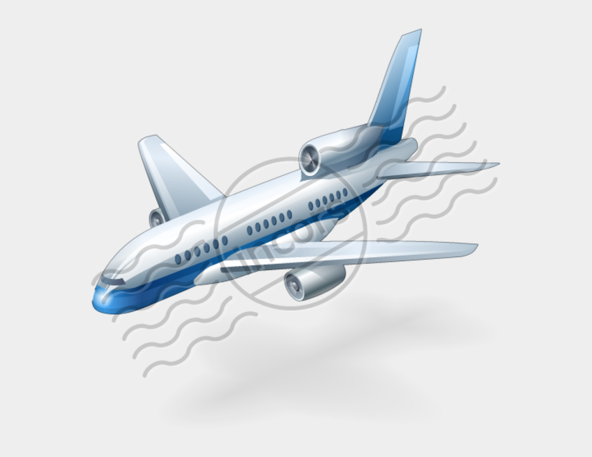 american airlines clipart, Cartoons - Airplane