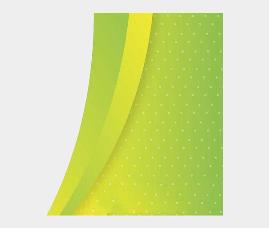 waves border clipart, Cartoons - Abstract Waves Png - Green Yellow Waves Png