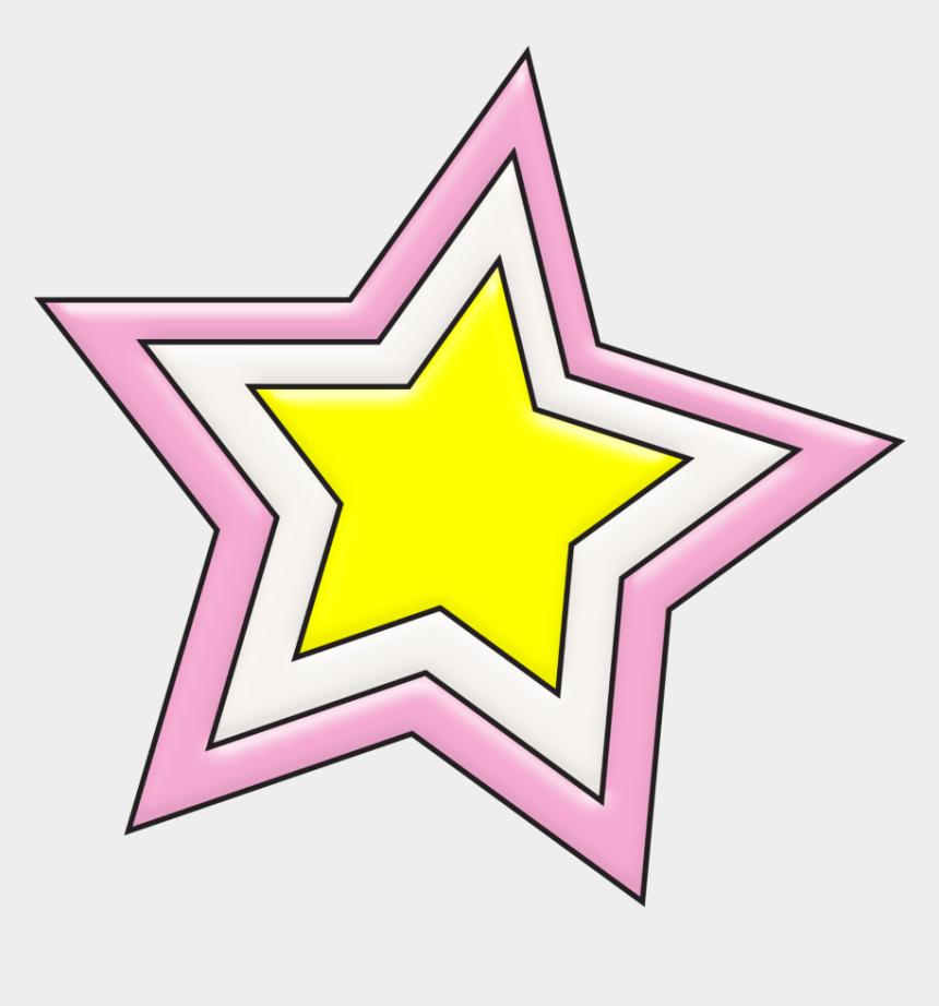 northern star clipart, Cartoons - #mq #pink #star #stars - Circle