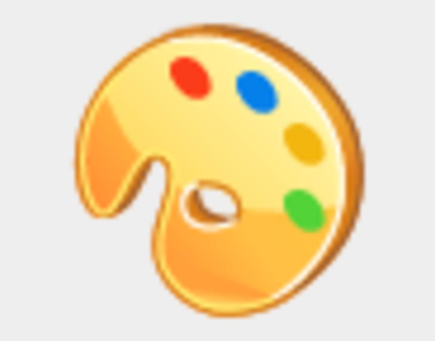 color palette clipart, Cartoons - Color Palette Icon Image - Palette Bmp Icon