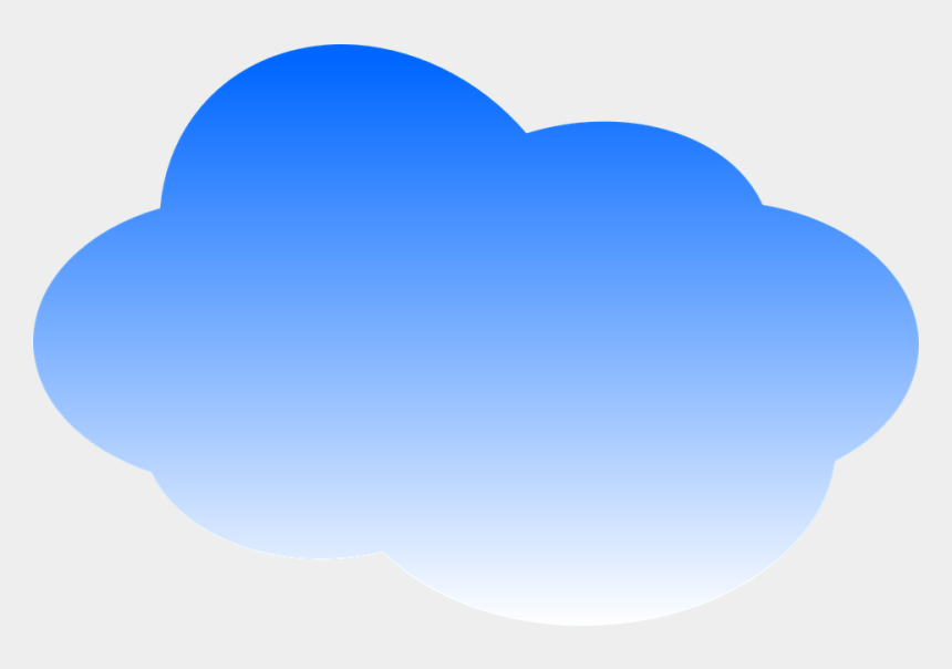 sky with clouds background clipart, Cartoons - Đám Mây Xanh