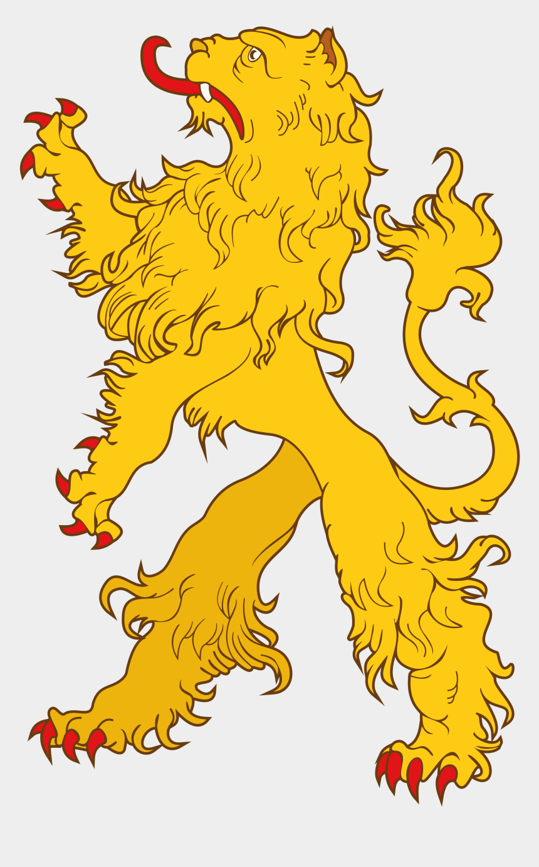 lion family clipart, Cartoons - Heraldic Lion Crest Png - Lion Coat Of Arms Png